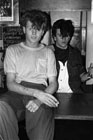 Steve Strange and Rusty Egan